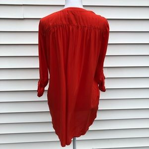 LOFT Tops - Red blouse